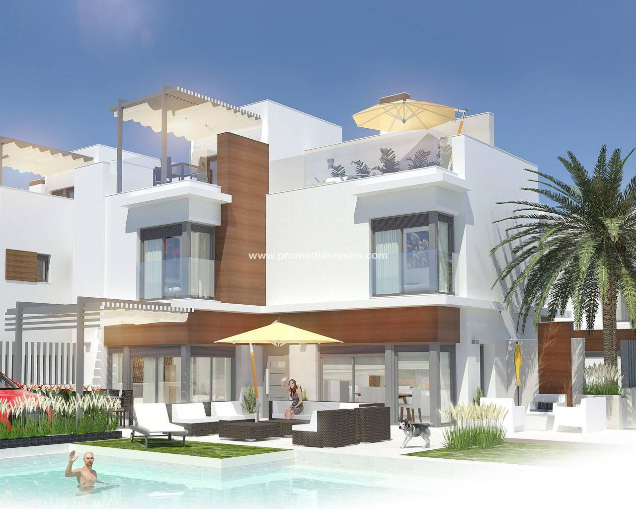 New Build - Semi detached - San Javier