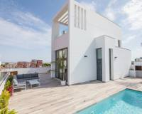 New build villa for sale in Torrevieja with private pool