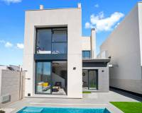 New Build villa with pool for sale in Villamartin