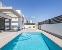 New build willa with private pool for sale in Torrevieja